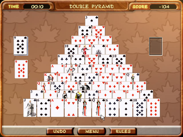 pyramid solitaire games free  »  7 Image » Creative..!