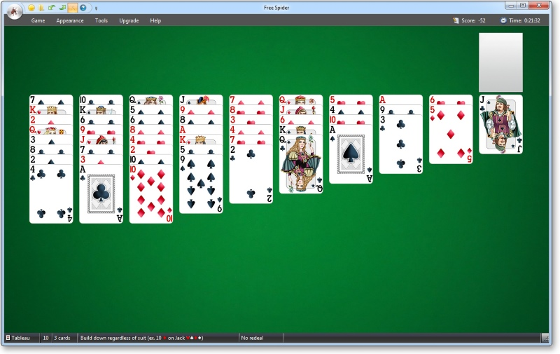 download classic spider solitaire windows xp