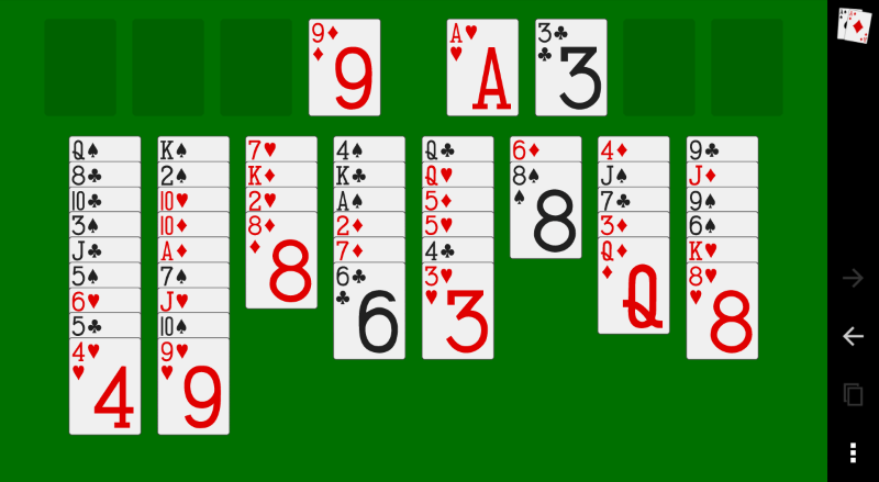 Screenshot of Solitaire Games Collection